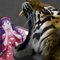 La tigre regina della giungla