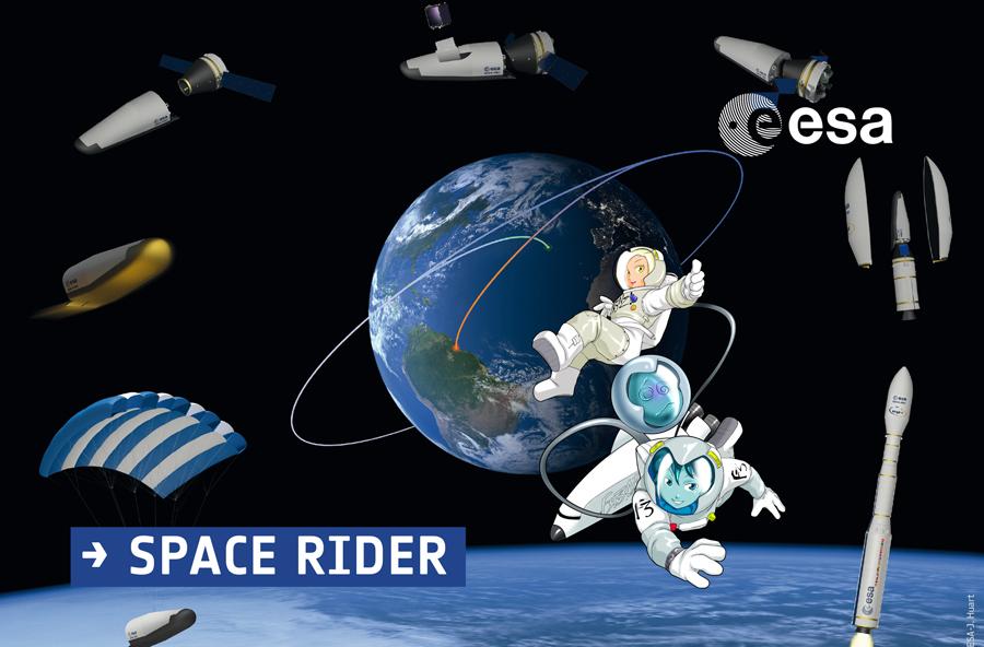 Volerà a 400 km da terra il nuovo Space shuttle costruito in Italia